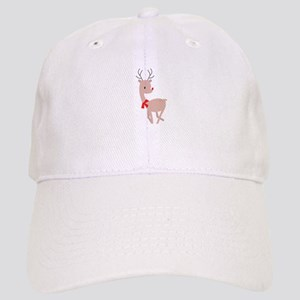 Holiday Reindeer Baseball Cap
