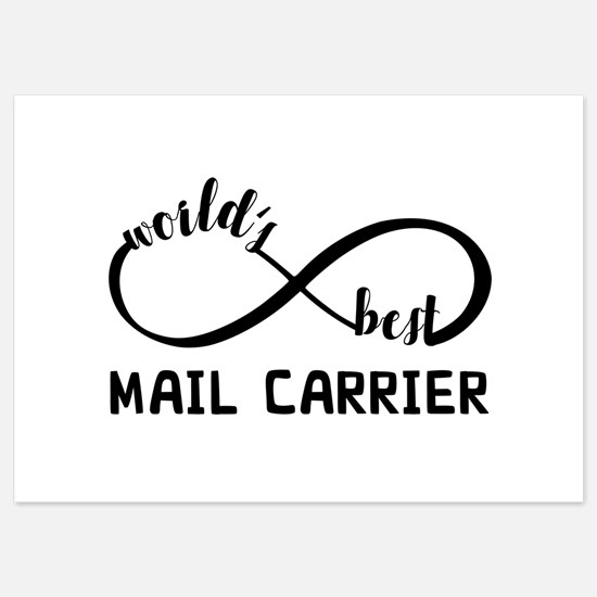 Infinity Gift For Mail Carrier Invitations