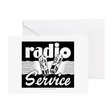 Radio Service Greeting Card