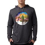 R-XmasMusic2-ShetlandPony Mens Hooded Shirt