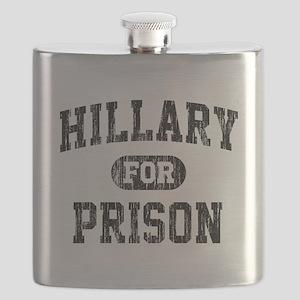 Vintage Hillary For Prison Flask