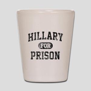 Vintage Hillary For Prison Shot Glass