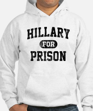 Vintage Hillary For Prison Hoodie