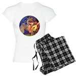 R-Angel3-ShetlandPony Women's Light Pajamas
