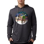 R-XmasMagc-ShetlandPONY Mens Hooded Shirt