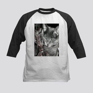 Smoky Christmas in black and white Baseball Jersey