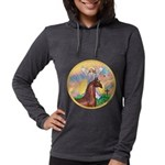 Blessings - Horse (Ar-brown) Womens Hooded Shi