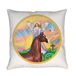 Blessings - Horse (Ar-brown) Everyday Pillow