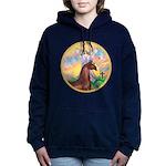 Blessings - Horse (Ar-brown) Women's Hooded Sw
