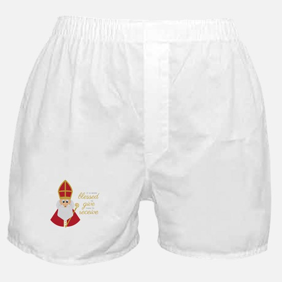 Blessed To Give Boxer Shorts