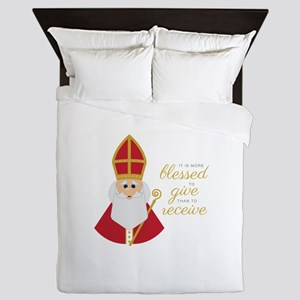 Blessed To Give Queen Duvet