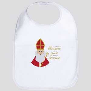 Blessed To Give Bib