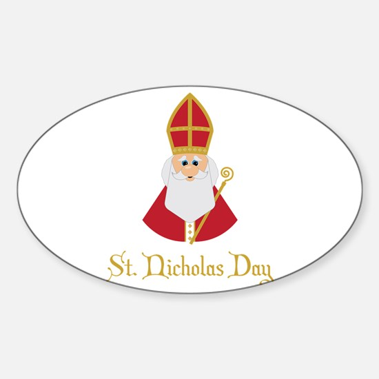 St Nicholas Day Decal