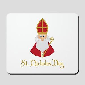 St Nicholas Day Mousepad