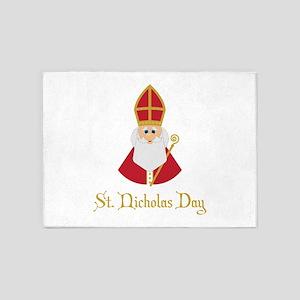 St Nicholas Day 5'x7'Area Rug