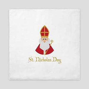 St Nicholas Day Queen Duvet