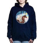 Clouds 3 - Horse Angel (Ar-brown) Women's Hood