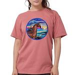 Rocks-Sea-Horse (Ar-brown) Womens Comfort Colo