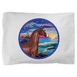 Rocks-Sea-Horse (Ar-brown) Pillow Sham