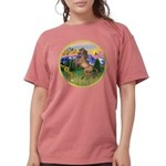 ORN-MtCountry-Horse-TAN-rear Womens Comfort Co