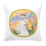 Blessings - White Arabian Horse (round) Everyd