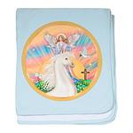 Blessings - White Arabian Horse (round) baby b