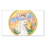 Blessings - White Arabian Horse (round) Sticke