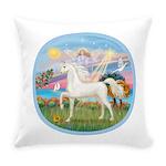 Angel Star - White Arabian Horse (round) Every