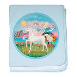 Angel Star - White Arabian Horse (round) baby