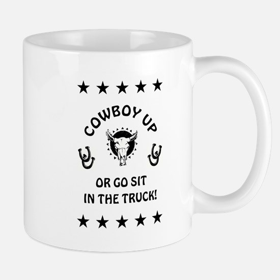 COWBOY UP Mugs