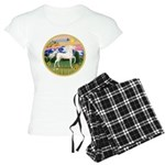 Mountain Country - White Arabian Horse Women's