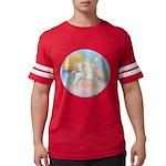 Clouds-Horse Angel (Ar-W) Mens Football Shirt