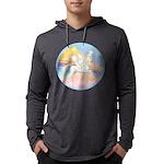 Clouds-Horse Angel (Ar-W) Mens Hooded Shirt