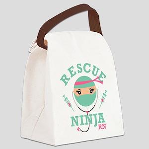 Rescue Ninja RN Canvas Lunch Bag