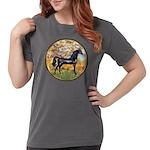 Spring (Monet) - Black Arabian Horse Womens Co