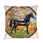 Spring (Monet) - Black Arabian Horse Everyday
