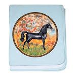 Spring (Monet) - Black Arabian Horse baby blan