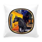 Terrace Cafe - Black Arabian Horse Everyday Pi