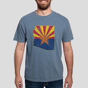 Vintage Arizona State Outline Flag T-Shirt