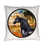 ORN-Garden-VG-Black Arabian Horse Everyday Pil