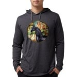 Birth of Venus - Black Arabian Horse Mens Hood