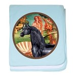 Birth of Venus - Black Arabian Horse baby blan