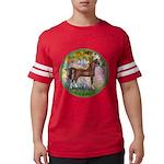 Garden (Monet) - Brown Arabian Horse Mens Foot