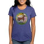 Garden (Monet) - Brown Arabian Horse Womens Tr