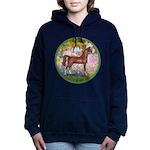 Garden (Monet) - Brown Arabian Horse Women's H