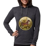 Palms (Monet) - Brown Arabian Horse Womens Hoo