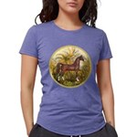 Palms (Monet) - Brown Arabian Horse Womens Tri