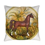Palms (Monet) - Brown Arabian Horse Everyday P
