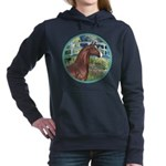 ORN-Bridge-ArabianHorse Women's Hooded Sweatsh