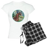 ORN-Bridge-ArabianHorse Women's Light Pajamas
